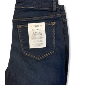 New Vigoss Ace High Rise Skinny Luxe Stretch